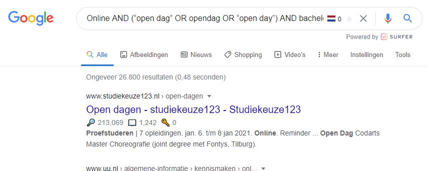 Hoe maak je goede zoekopdrachten in Google?